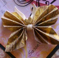 Paper butterfly, 3-d papercraft