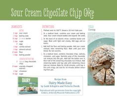 Sour cream bundt-cake