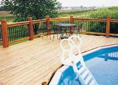 above ground pool decks - Bing Images
