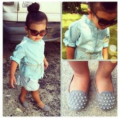 If I had a daughter you know I would be dressing her like this.