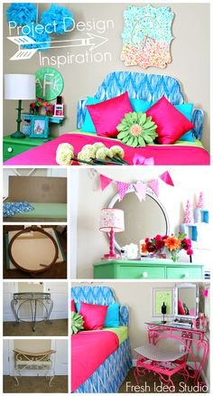 Fresh Spring Tween bedroom Makeover -  by DENY Designs