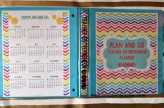 For you teacher authors/sellers!  Get organized~ Plan and Go Teacher Entrepreneur Planner, $ www.amodernteacher.com