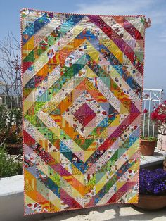 Value quilt. Sunshine and candy.