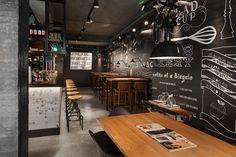 Stan Co restaurant interior design by De Horeca Fabriek