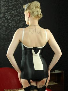 L3022 Marlene Girdle - Lingerie, Vintage Lingerie, 1950s Style Lingerie, Girdles, Waist Cinchers, Suspender Belts, Knickers | What Katie Did