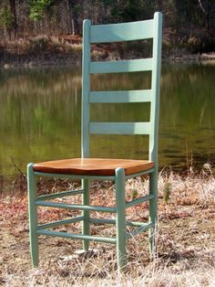 Cottage Tall Ladder Back Chair