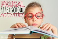 Need some fun and frugal after school activities? Here are 10 to try with your kids!