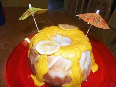 Lemon cake I did