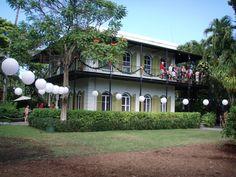Hemingway's home in Key West