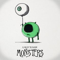 monsters by tim burton