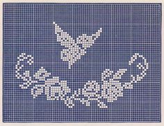 Sentimental Baby: Three Filet Crochet Baby Pillow Patterns