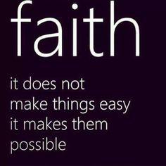 Keep the faith. Luke 1 37, God, Inspiration, Quotes, So True, Things, Luke137, Living, Have Faith