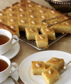 how to make basbousa egyptian dessert