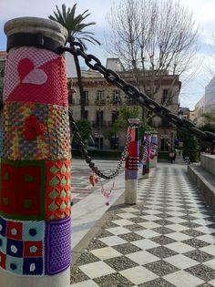 Urban Knitting Sevilla. Febrero 2013