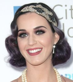 Katy Perry's glam look