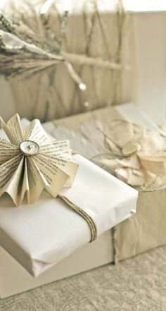 Another unique gift wrapping idea