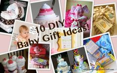 10 DIY Baby Gift Ideas