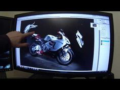 ▶ Motorcycle Light Painting Photography Composite Tutorial - YouTube