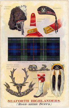 Scottish military garb