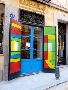 """""""BookShop Door, Madrid, Spain"""" taken by balavenise"""