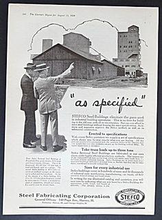 Steel Fabricating STEFCO Corporation Ad