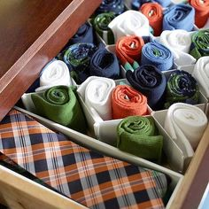 drawer organization, clothing storage, tie, socks, storage organization, drawers, closet, storage ideas, bedroom