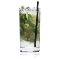 Mint Fresh / Patrón Reposado + brandy + lemon + mint / get the full recipe from the Drink Maker section when you click through