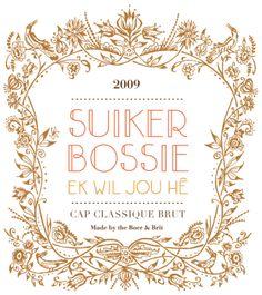 Suikerbossie label