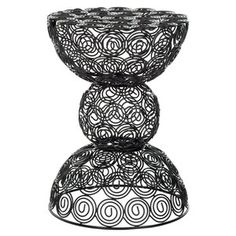 Circles Wire Stool Black now featured on Fab.