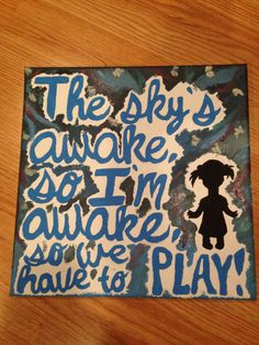 Frozen Painted Canvas by TheCraftyKate on Etsy, $15.00 <--- the newest item in my Etsy shop!