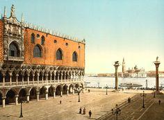 1890, doge palac, facad, european place, palaces