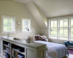 Hfd bedroom diy, white headboard, small bedrooms, attic bedrooms, headboard idea, bedroom headboards, bedroom colors, bedroom designs, bed idea