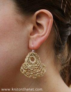 Crochet earrings #crochet Crochet earrings #crochet Crochet earrings #crochet