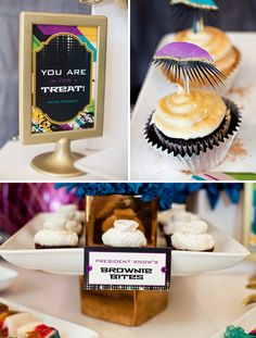 Hunger Games Capitol Couture Inspired Dessert Table