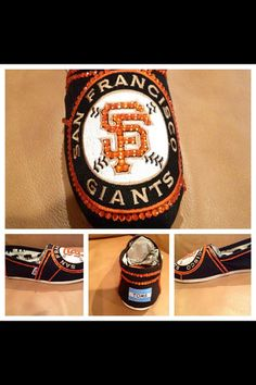 San Francisco Giants womans shoes, custom black Toms, hotfix rhinestones , San Francisco Giants  apparel free shipping, giants custom toms