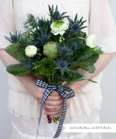 kale in a bouquet
