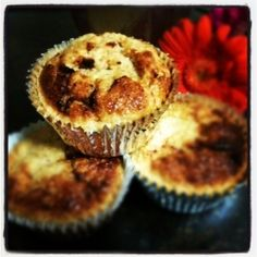 Naughty Muffins  Feel as though you are indulging in something naughty when you have a quick and oh so healthy muffin!!!