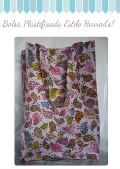 Nuevas Bolsas Plastificadas estilo Harrods, Bolsos y carteras, Bolsas para el bebé, Bolsos y carteras, Bolsas