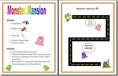 Here's a game for nonstandard measurement where students predict and measure how many teddy bears, unifix cubes or paper clips it will take for the monster to get home.