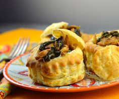 May I Have That Recipe: Vegan Herbed Seitan Vol Au Vents