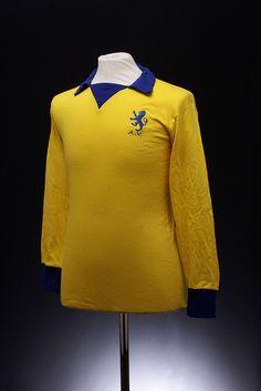 Aston Villa Football Shirt (1969-1974, away) I loved this shirt when I was a kid, I had the full kit.
