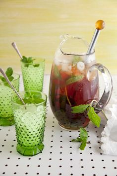 Paula Deen Mint Iced Tea