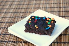 sneaky chef brownies - undetectable wheat germ, spinach & blueberries