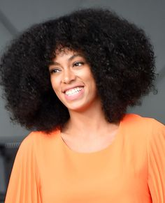 Short curly hair inspo: Solange Knowle #InStyle