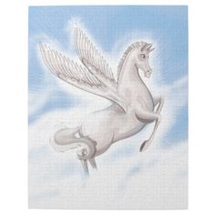 Unicorn in flight