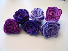 How To Make Ribbon Roses | ... Shoe-Obsessed Bride, Part 5 (Ribbon Flower and Shoe Cuff Tutorial