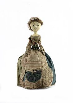 Wooden Doll 17th century by therusticvictorian, via Flickr