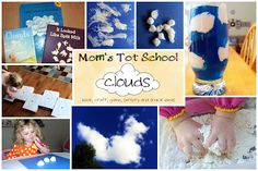 Mom's Tot School: Clouds