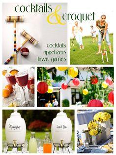 cocktails & croquet