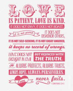 idea, corinthians 13:4-8, bible quotes paul, printabl quot, inspir, printables quotes, mammy quotes, love quotes, printable quotes